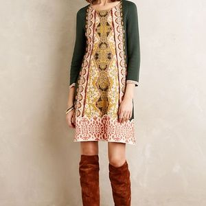 Anthropologie SweaterKnit Lanka Tunic Dress